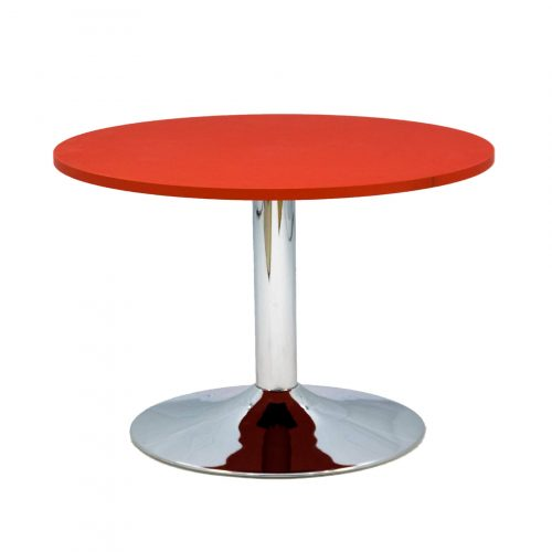 STOLIK CIRCLE CAFE RED