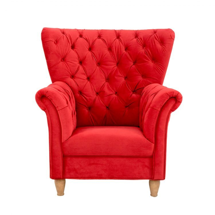 FOTEL CLAUS RED