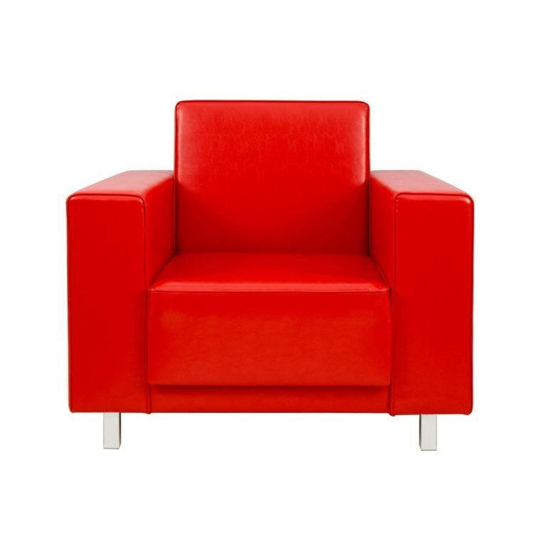 FOTEL PURE RED