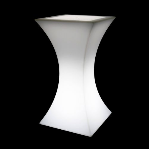 STOLIK SQUARE COCKTAIL LED