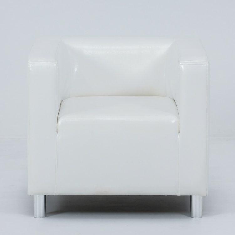 FOTEL CUBO WHITE