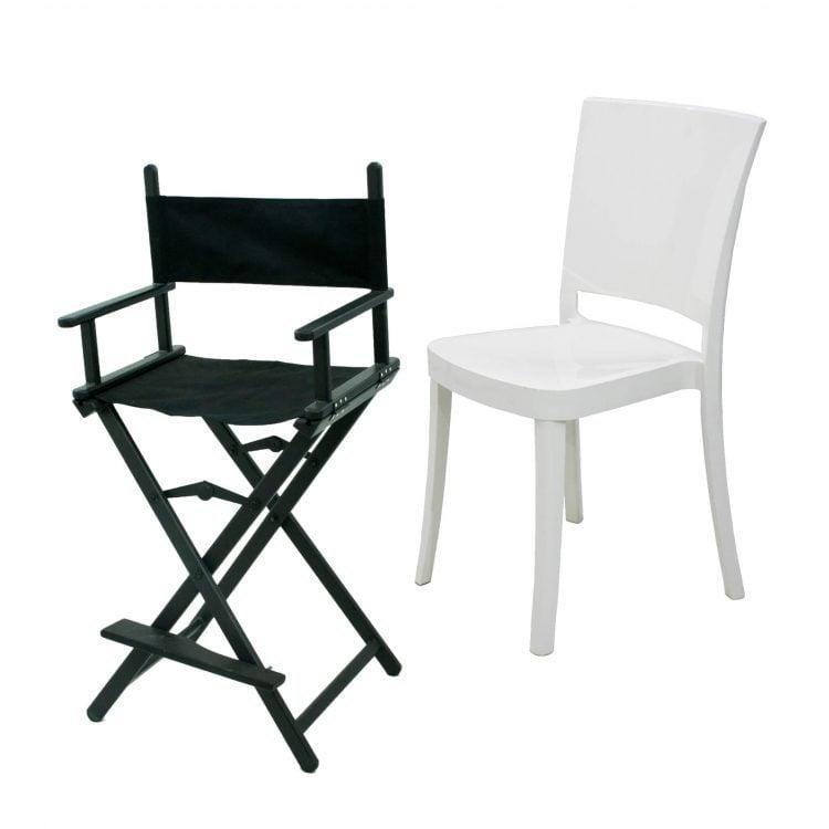 Krzesła i hokery