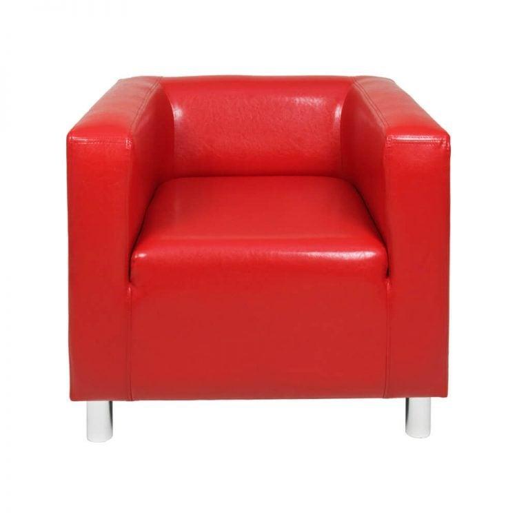 FOTEL CUBO RED
