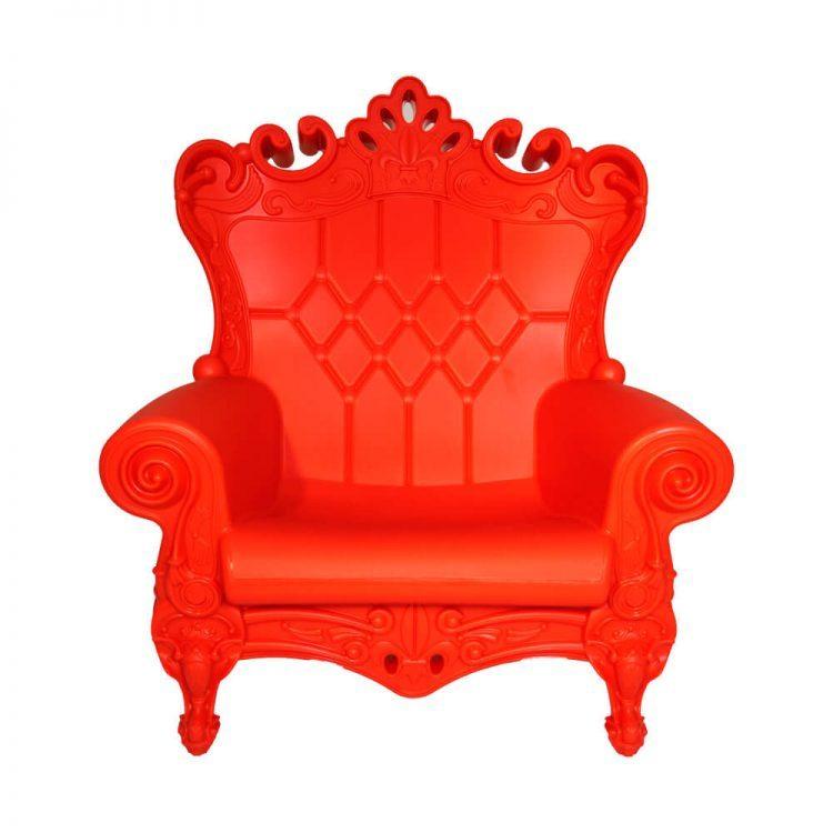 FOTEL THRONE  RED
