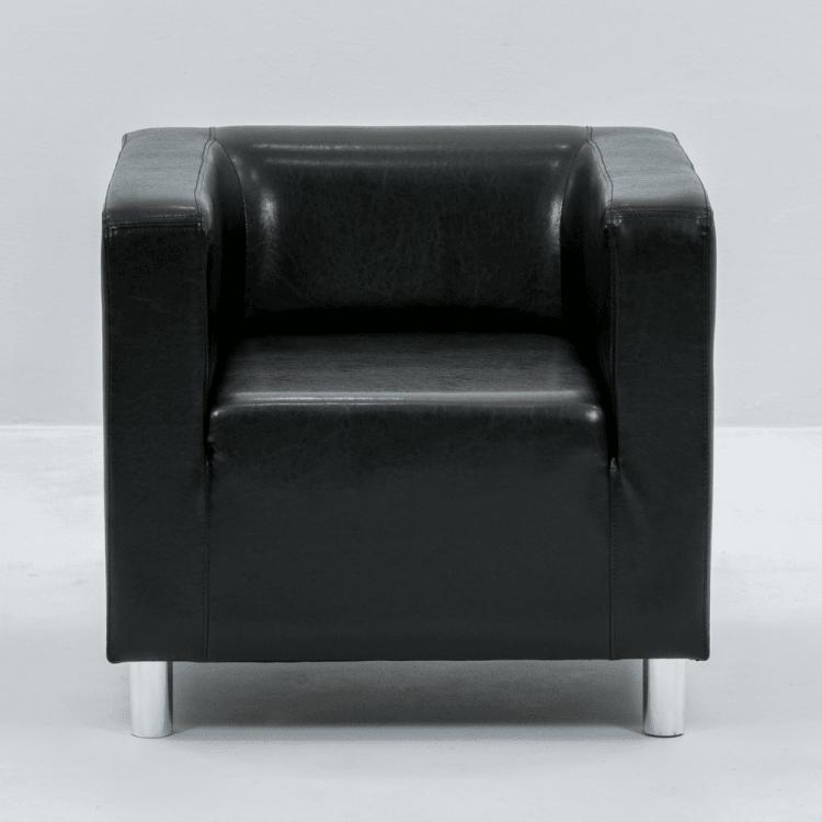 FOTEL CUBO BLACK