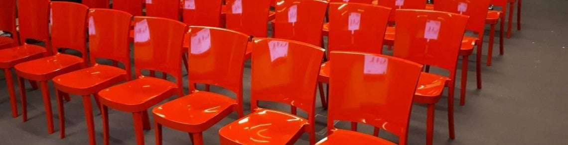Wynajem krzesła czerwone