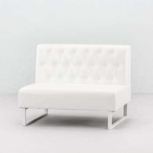 SOFA GLAMOUR DUO WHITE