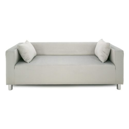 SOFA CUBO VELVET – SPACE GRAY