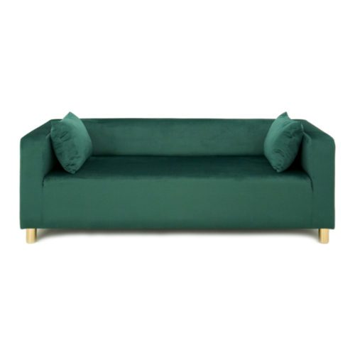 SOFA CUBO VELVET – BOTTLE GREEN
