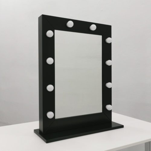 LUSTRO SOLED MAKE UP STAND BLACK